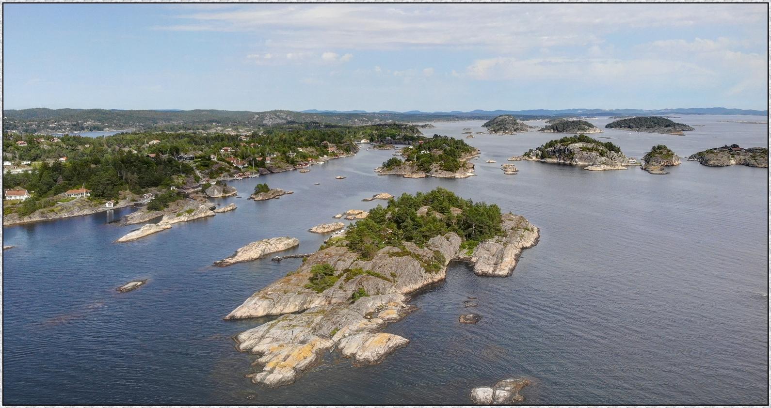 Südnorwegen Skagerrak Feeling beim Kjønnøya Camping ; Norwegenreise 2019