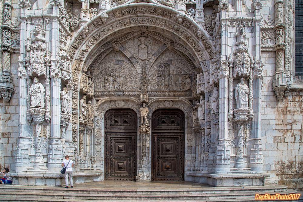 Südportal des Mosteiro dos Jerónimos