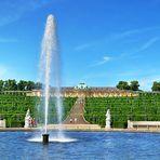 Südseite von Sanssouci