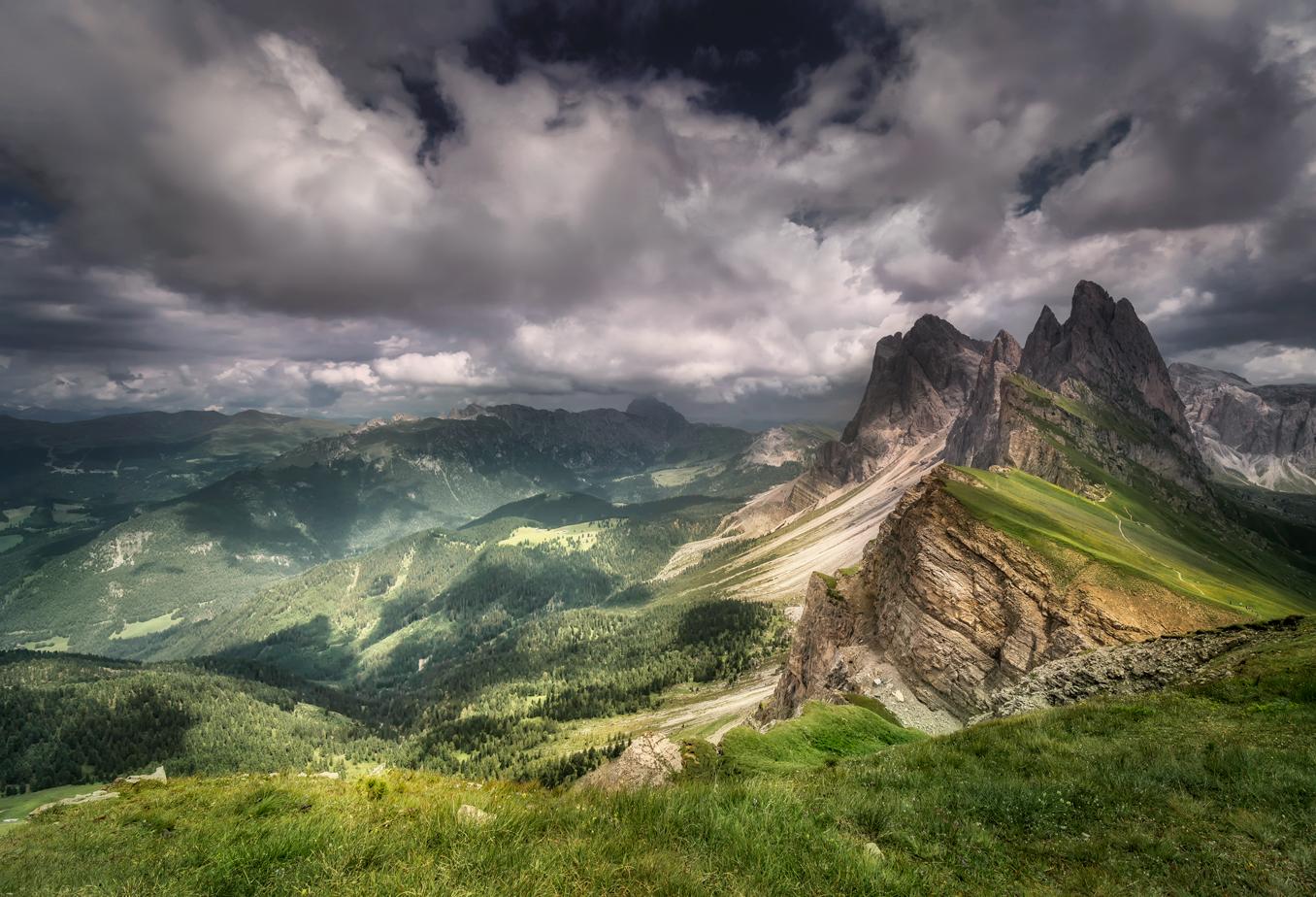 Südtirol 6 -Geißlerspitzen