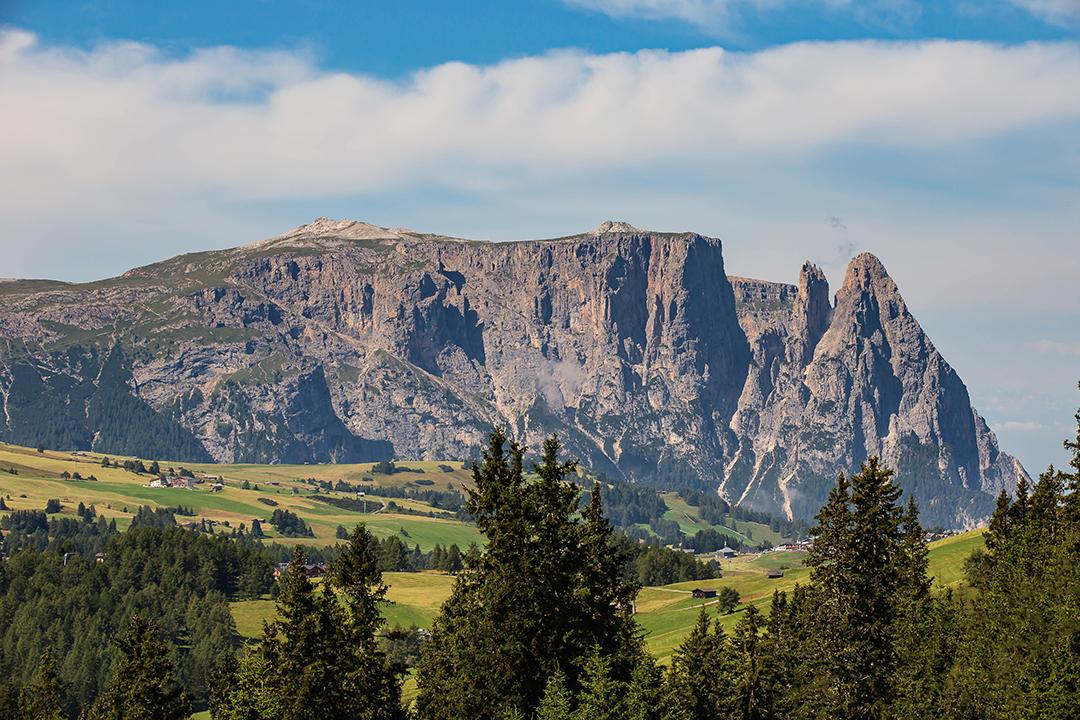 Südtirol, Dolomiten, Seierser Alm, Schlern