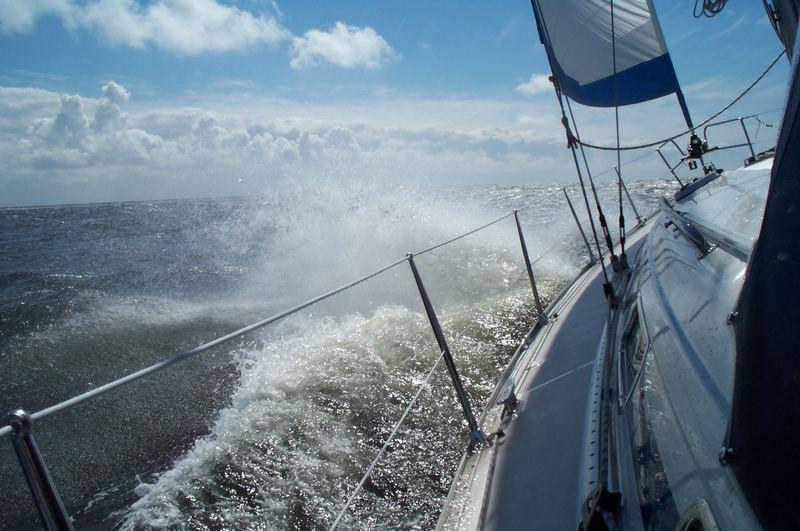 Aktuelle Windstärke