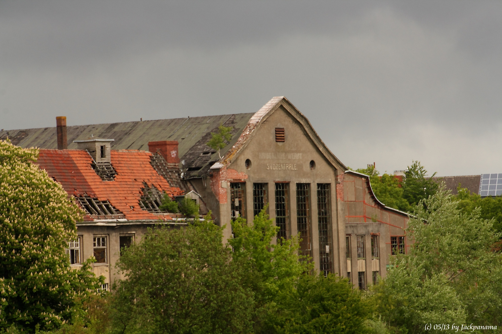 Südzentrale der Kaiserlichen Werft in Wilhelmshaven