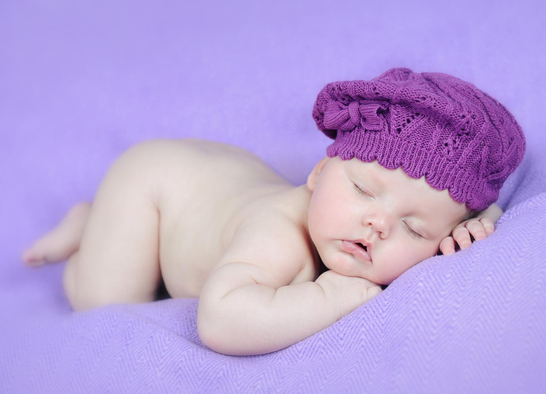 Süße 6 Monate alt