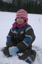 Süße im Schnee