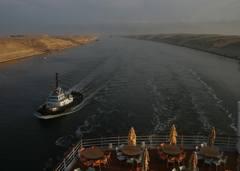 Suezkanal- Passage