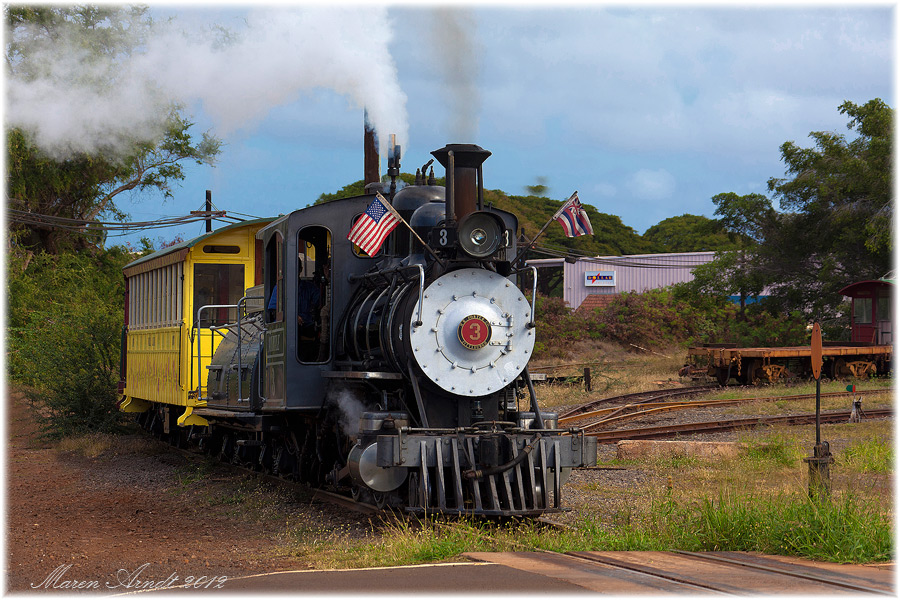 Sugartrain in Lahaina/Maui