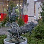 """Suhl, Dianabrunnen (la ciudad Suhl, el fuente """"Diana"""")"""