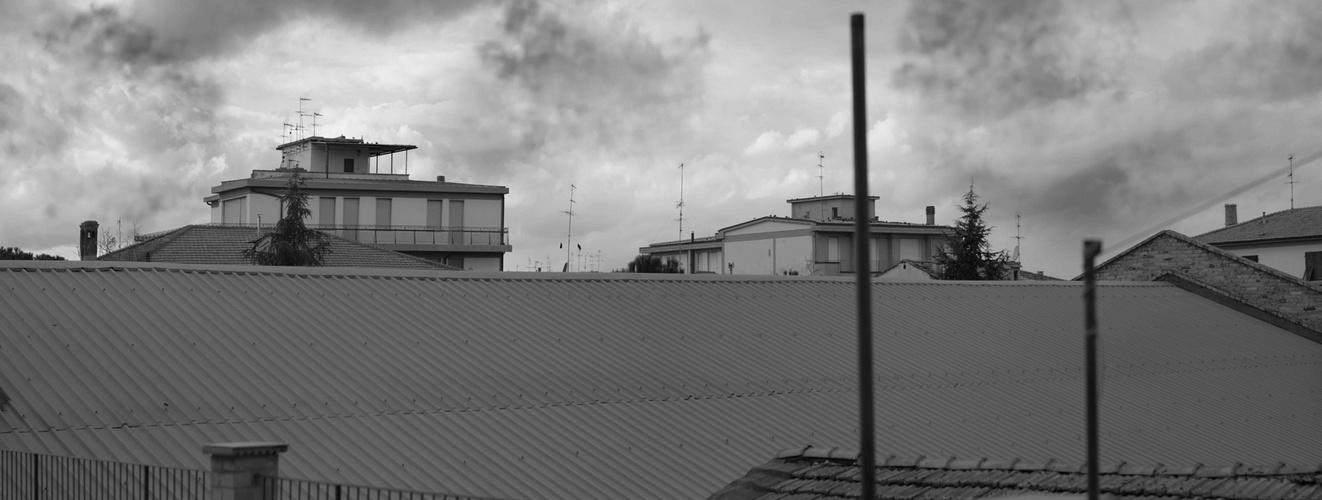 Sui tetti della mia Città (panoramica)