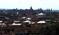 Sui tetti di Roma