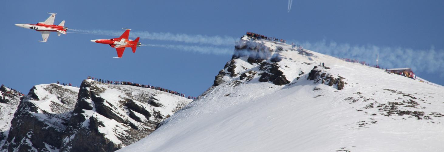 suisse patrouille zum 80ten