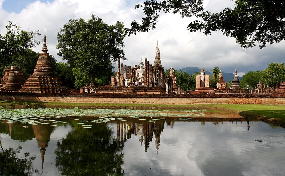 Sukhothai - die alte Königsstadt