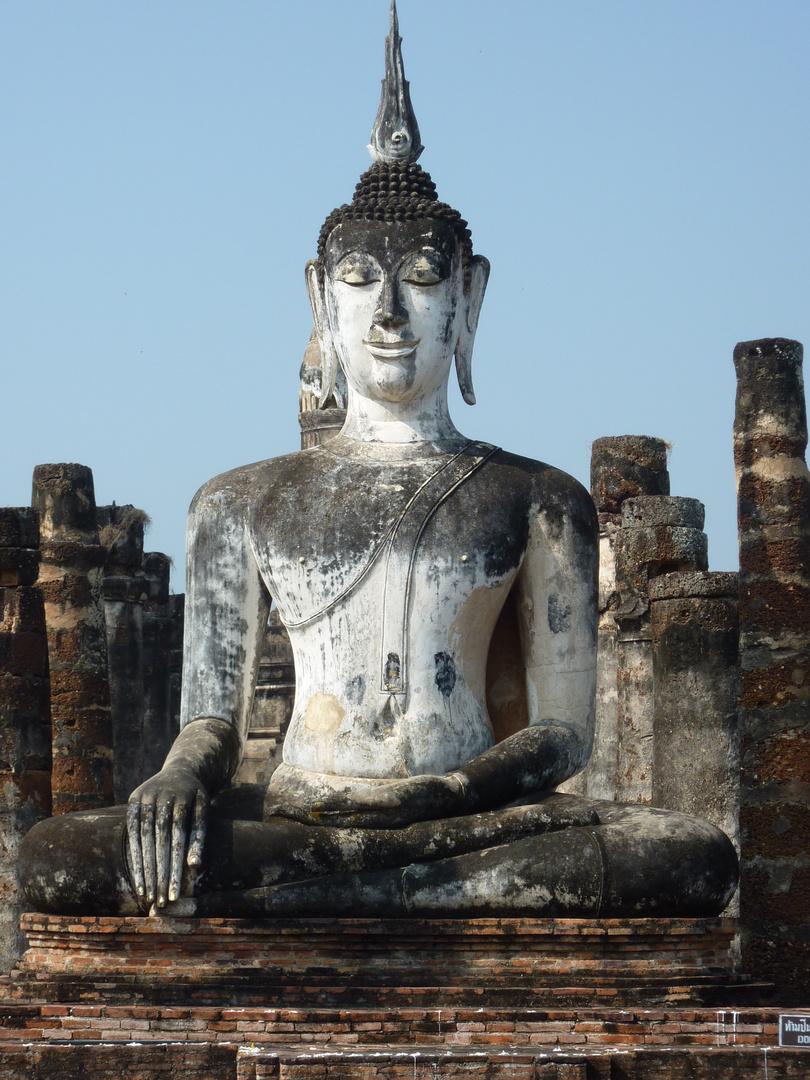 Sukhothai, serene Buddha