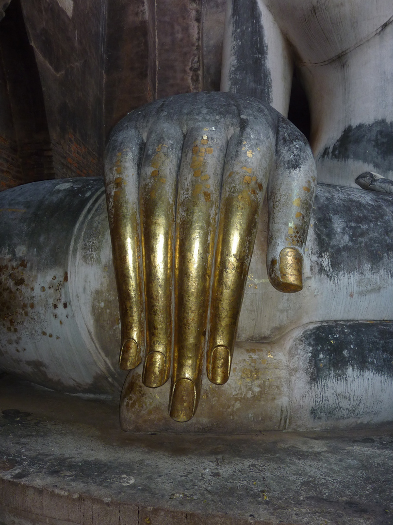 Sukhothai, the Buddha's Hand