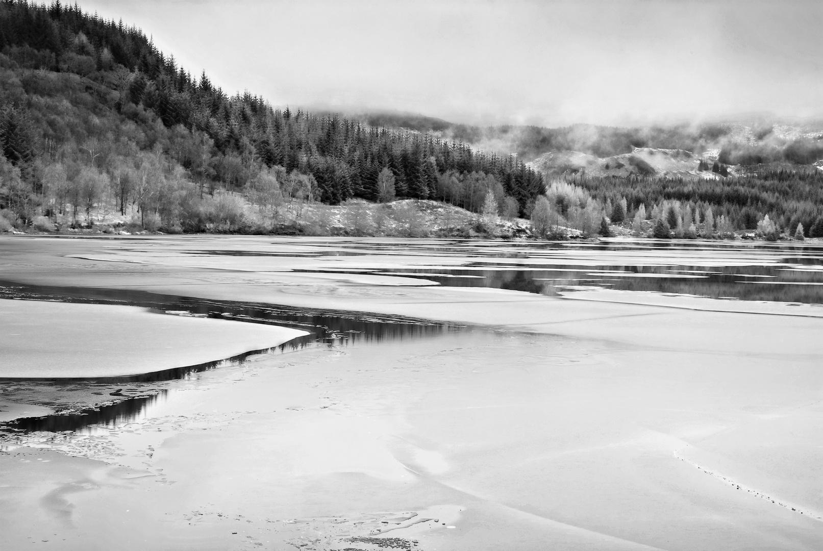 Sul lago ghiacciato ... serenità
