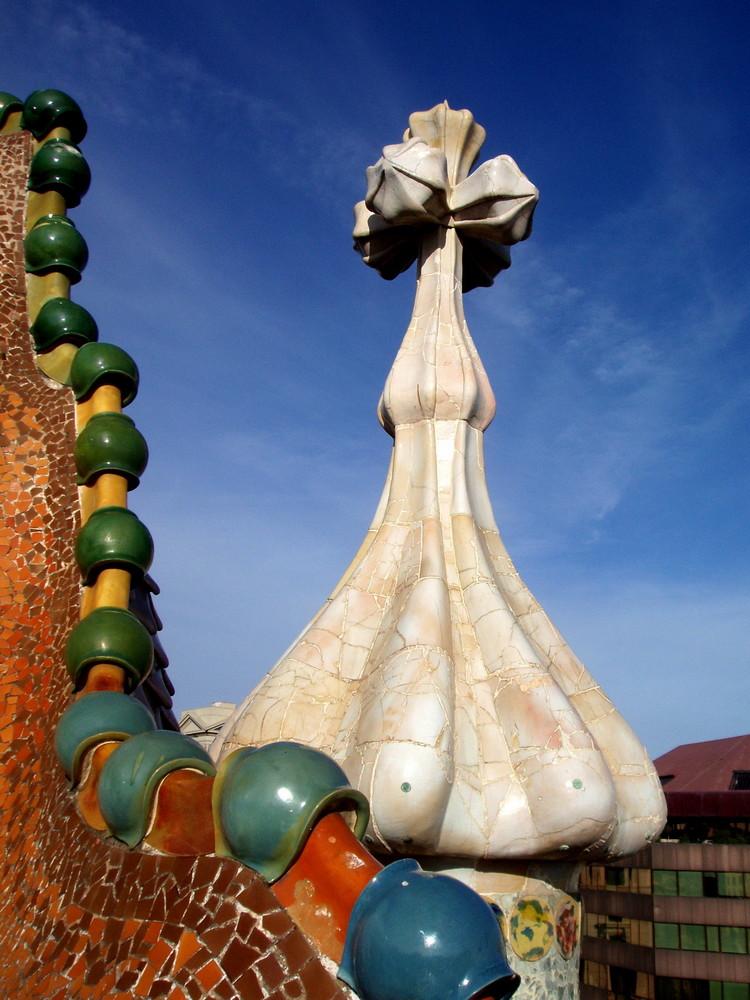 Sul tetto della casa batll foto immagini europe spain for Piani della casa sul tetto