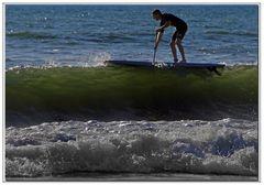 sulla cresta dell onda ....