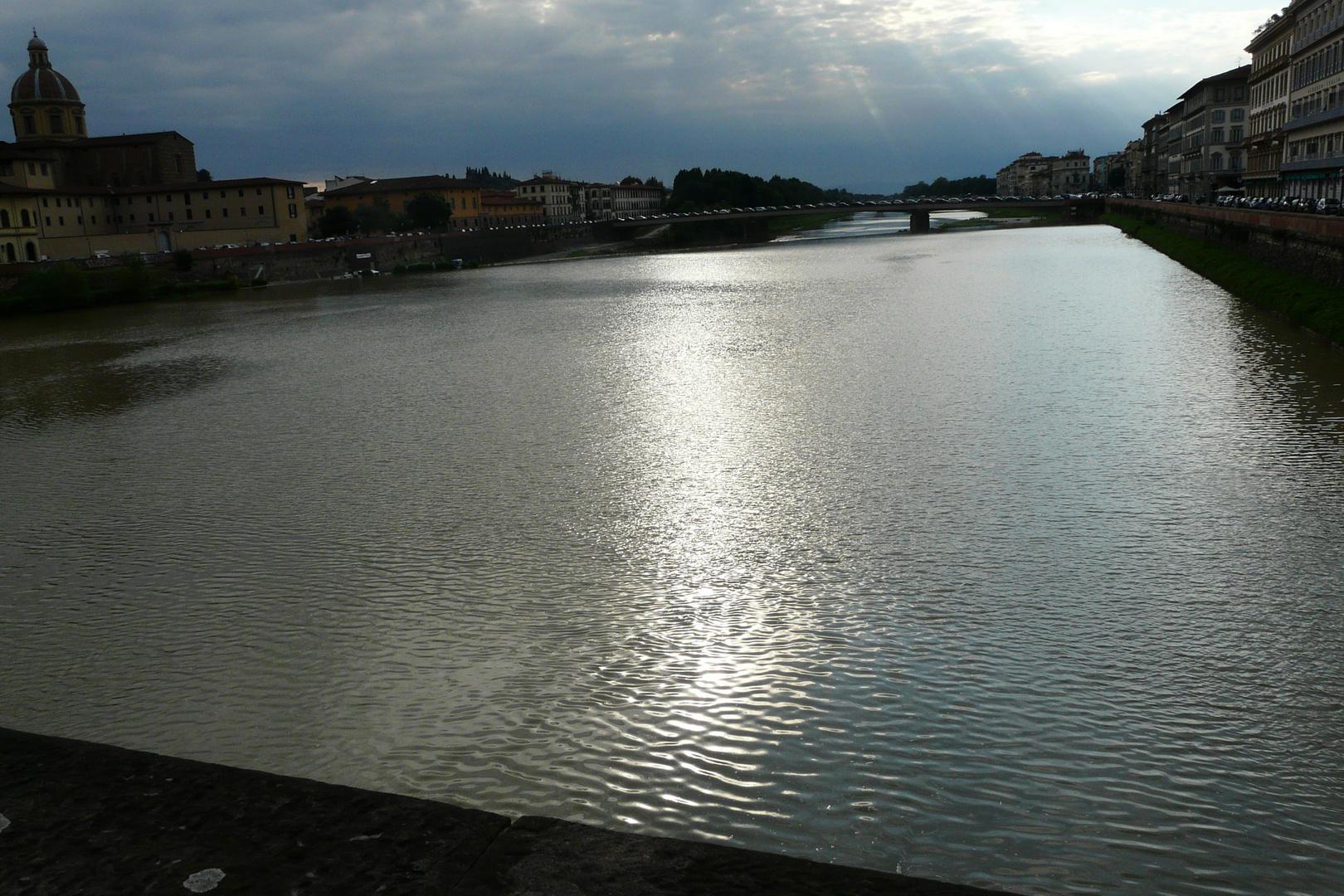 sull'Arno d'argento......