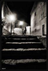 Sulle scale di Calvì
