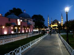 Sultan-Ahmed am Abend.