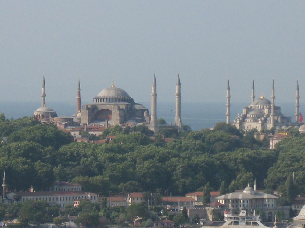 Sultanahmet aus der Ferne