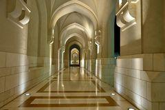 Sultanspalast. Muscat. Oman