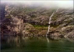 * Summer in Hellesylt fjord *