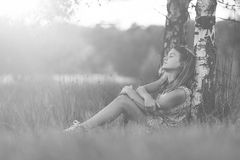 Summerfeeling in schwarzweiß