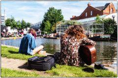 Summertime am Regent's Canal