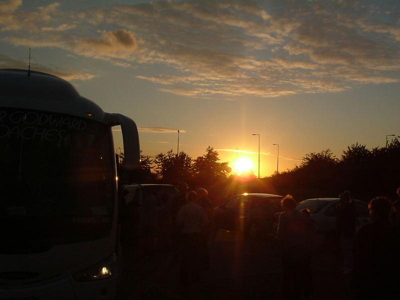 Sun-down on Thurrock