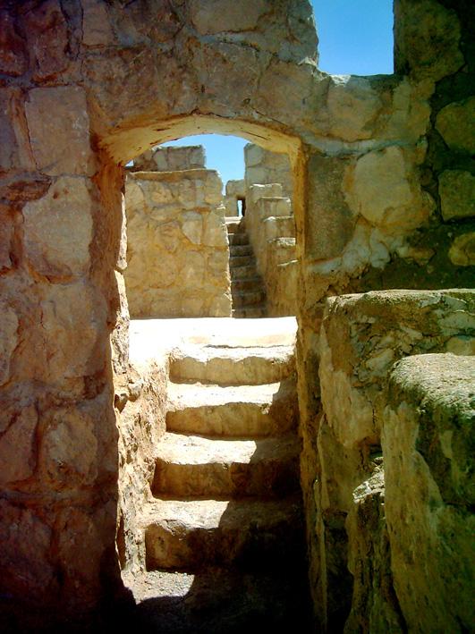 SUN IN ARABIC CITADEL- TODMOR- SYRIA
