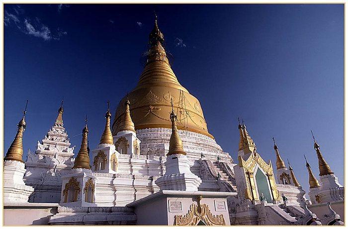 SUN-U-PONNYA-SHIN Pagode in Sagaing