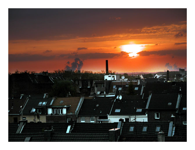 sunddown over ehrenfeld