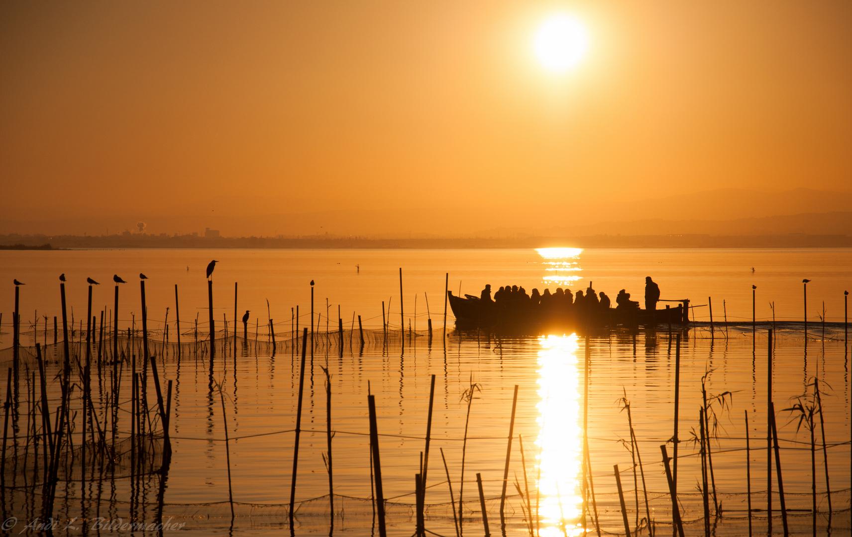 sundown ~ albufera park ~~~~