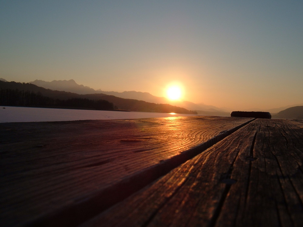 Sundown am Wörthersee