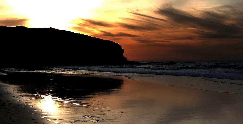 ...sundown bei La Pared...2