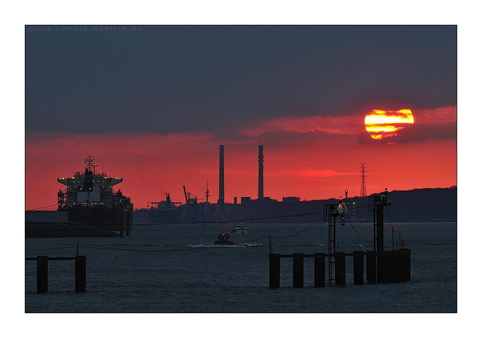 sundown elbe