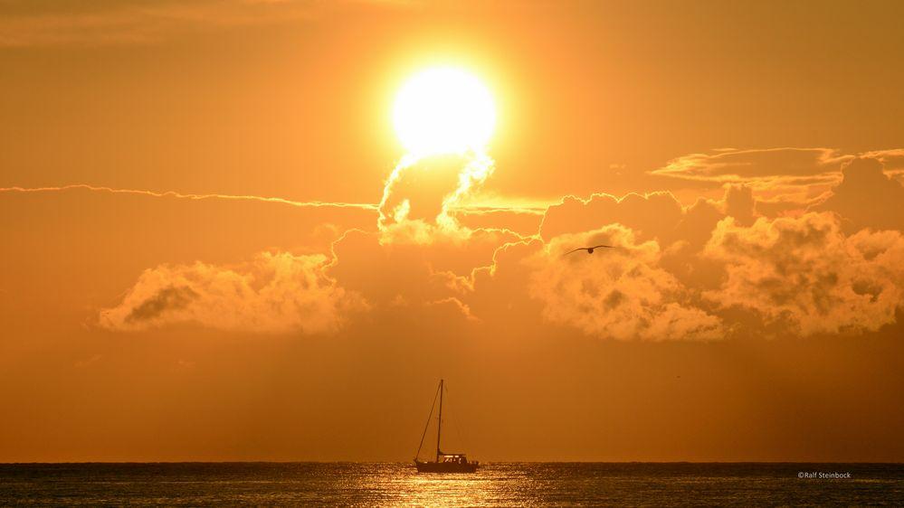 Sundown Helgoland