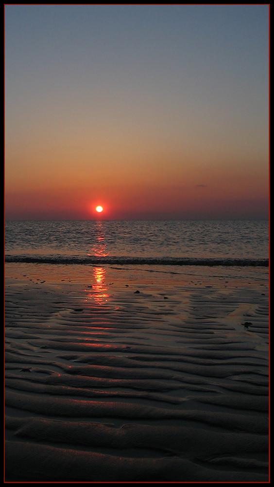Sundown in Ouddorp