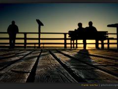 sundown in Prerow