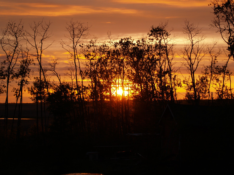 Sundown in Prince Albert