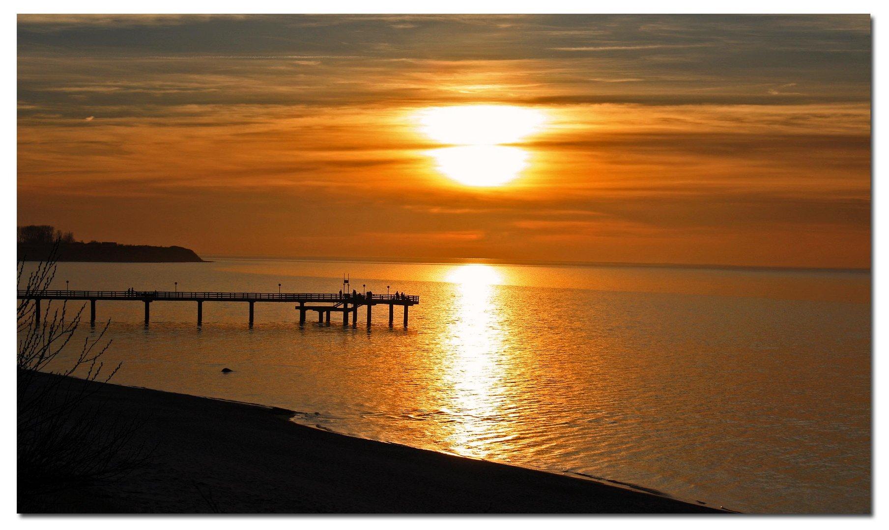 ....sundown in Rerik....