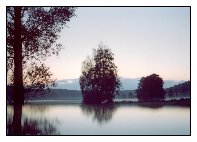 Sundown in september