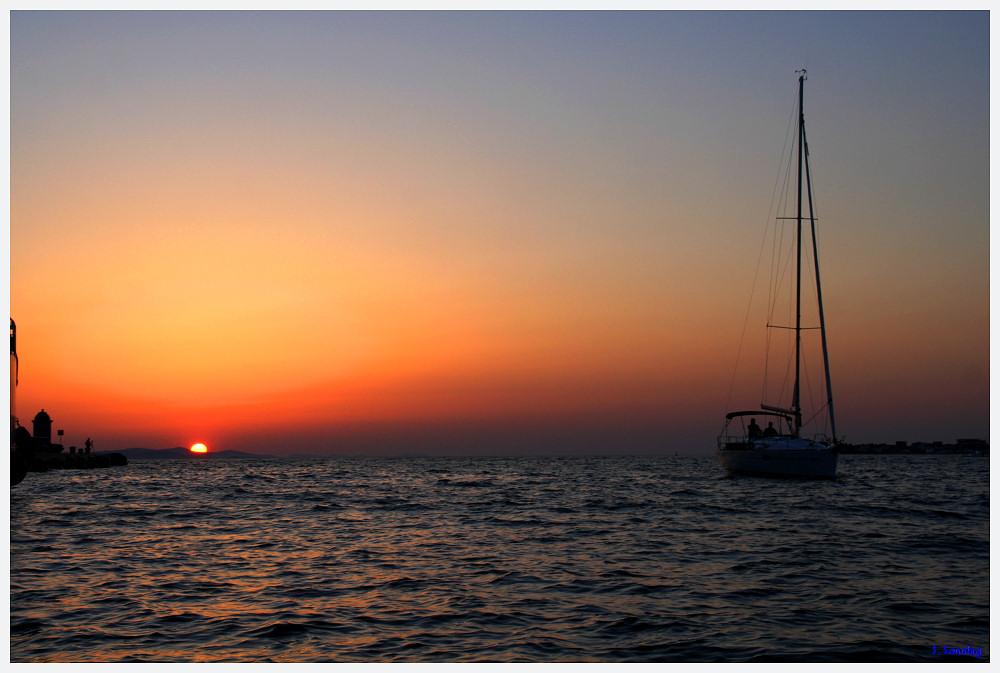 Sundown in Zadar II       -Brennweite 18mm