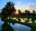 Sundown over Cancun I
