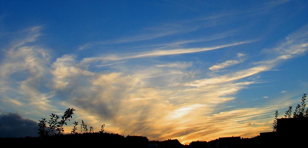 Sundown today