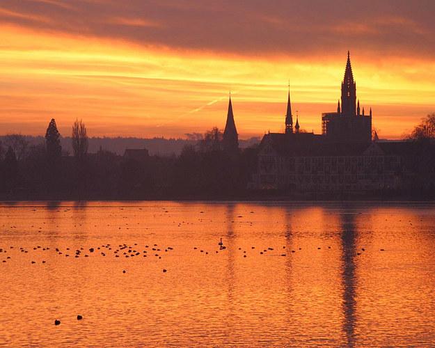 Sundown über Konstanz