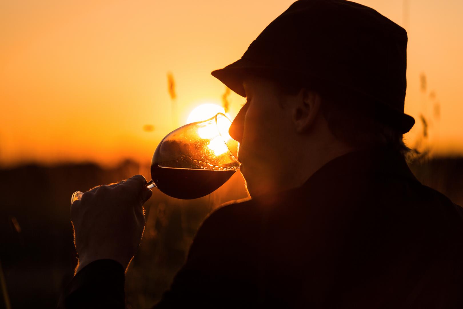 Sundown wine