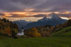 Sundowner im Berchtesgadener Land