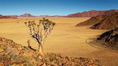 Sundowner in den Tirasbergen